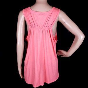 Mixit Tops - Mixit Tank Top Stripe Pink Size XL